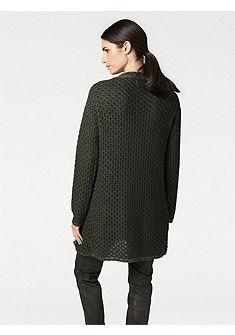 RICK CARDONA by heine Dlouhý pletený svetr s kapsami