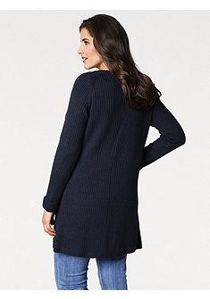 B. C. BEST CONNECTIONS by heine Dlhý pletený sveter so zmiešaným pletením