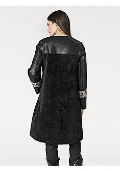 RICK CARDONA by heine Koženkový kabát s výšivkou
