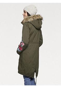 LINEA TESINI by heine Přechodný kabát s odnímatelným kapucí