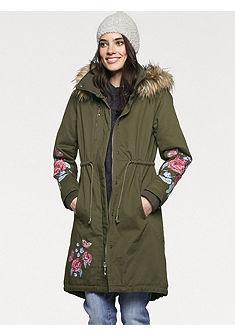 LINEA TESINI by heine Prechodný kabát s odnímateľnou kapucňou
