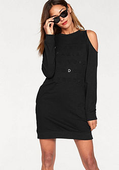 Superdry Bavlněné šaty »SPORT COLD SHOULDER DRESS«