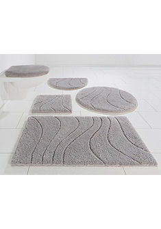 Fürdőszobaszőnyeg, HOME AFFAIRE, »Lola«, magasság 22 mm, Microfaser, csúszásgátló hátoldallal