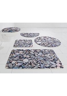 Kúpeľňová predložka, my home Selection, »Steine«, výška 14 mm, pamäťová pena