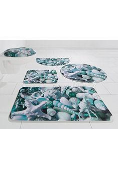 Koupelnová předložka, půlkruh, my home Selection, »Kosta«, výška 14 mm, paměťová pěna