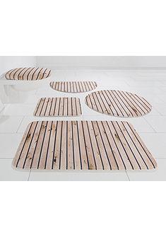 Kúpeľňová predložka, my home Selection, »Holzoptik«, výška 14 mm, pamäťová pena