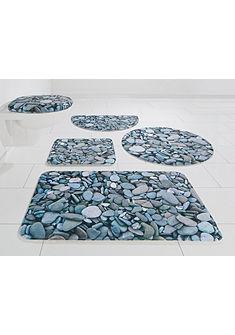 Fürdőszobaszőnyeg, my home Selection, »kövek«, magasság 14 mm, memória habos