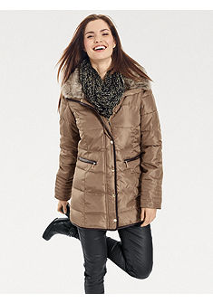 B.C. BEST CONNECTIONS by heine Štepovaná bunda s límcem z umělé kožešiny