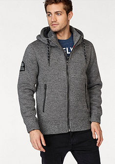 Superdry Pletený sveter s kapucňou »Expedition Ziphood«