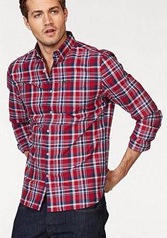 Superdry Kockovaná košeľa »RAW OXFORD L/S WASHBASKET«