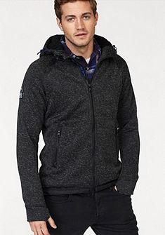 Superdry Pletený svetr s kapucí »STORM DOUBLE ZIPHOOD«