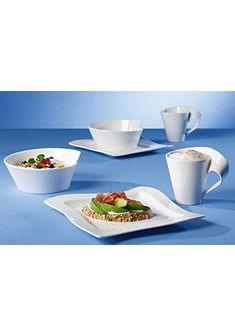 Villeroy & Boch Raňajková súprava, porcelán, 6-dielne »NewWave«