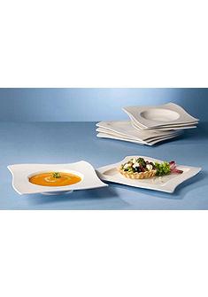 Villeroy & Boch vacsorázó készlet, porcelán, 8 részes, »NewWave«