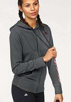 adidas Performance Mikina s kapucí »ESSENTIALS LINEAR FULLZIP HOODIE«