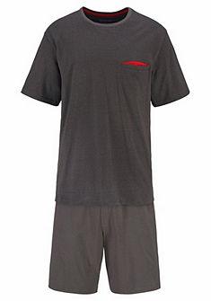 Schiesser rövidnadrágos pizsama zsebbel