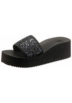 Flip Flop Pantofle na klínu »Pool Wedge Glitter«