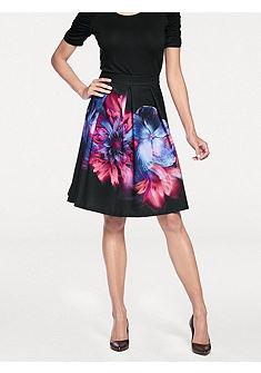 ASHLEY BROOKE by heine Květovaná sukně