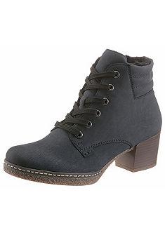 Rieker Zateplené šnurovacie topánky