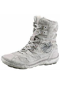 KACPER Šněrovací topánky vysoké