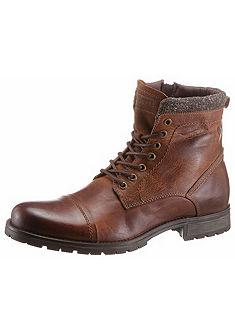 Jack & Jones Šnurovacie topánky vysoké »Marly«