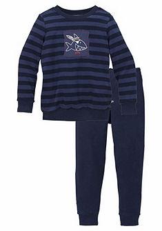 Schiesser Capt'n Sharky Froté chlepčenská dlhá pyžama