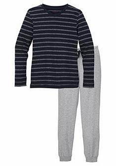 Schiesser Chlepčenská dlhá pyžama