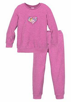 Schiesser Lillifee Froté dievčenská dlhá pyžama