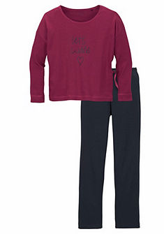 Schiesser Pyžama dlhá pre dievčatá