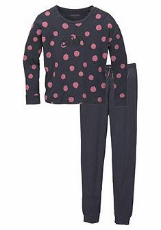 Schiesser Dívčí dlouhé pyžamo