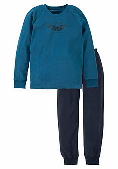 Schiesser frottír fiú pizsama
