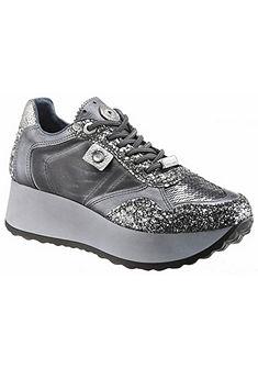 Cetti plató talpú sneaker cipő flitterekkel