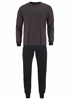 Schiesser Pánské dlouhé pyžamo s manžety