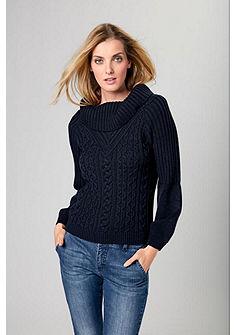RICK CARDONA by Heine kötött pulóver elálló nyakkal