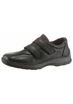 Rieker Kožené topánky na suchý zips