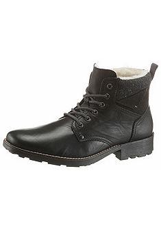 Rieker Šnurovacie zimné topánky vysoké