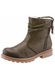 Rieker Zateplené členkové topánky