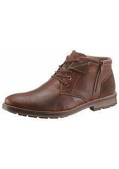 Rieker Šnurovacie členkové topánky