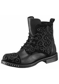 MIMMU Šnurovacie topánky vysoké