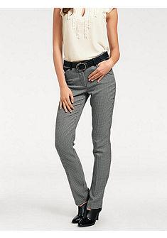 ASHLEY BROOKE by heine Formující kostkované kalhoty efekt břicho pryč
