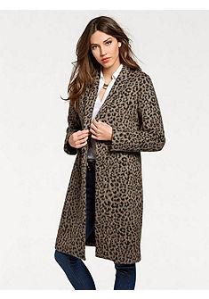 ASHLEY BROOKE by heine Krátky kabát leopardí vzor