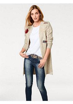 RICK CARDONA by Heine kötött kabát applikációval