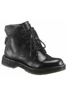 Cafe Noir Šněrovací boty vysoké