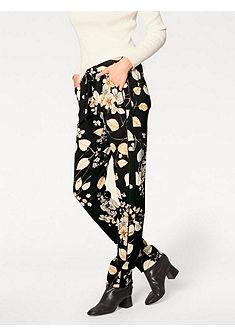 ASHLEY BROOKE by heine Vzorkované nohavice - kvetinový dizajn