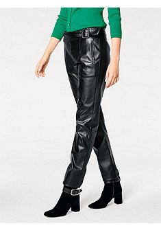 ASHLEY BROOKE by heine Koženkové nohavice s ozdobným pásom