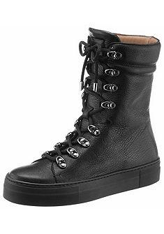 Franco Russo Šněrovací boty vysoké
