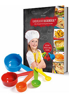 Kinderleichte Odměrková kuchařka hračkou, 6-dílná