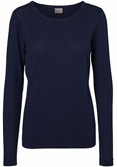 Vero Moda finom kötésű kereknyakú pulóver »CARE«