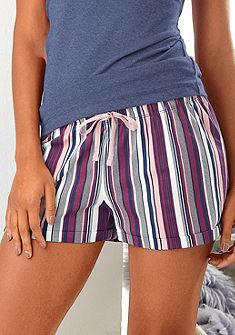 Petite Fleur Pyžamové šortky s celoplošným vzorom