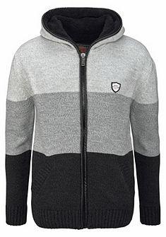Cipo & Baxx Pletený svetr s kapucí