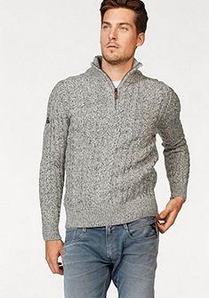 Superdry pulóver szűk fazonú »JACOB HERITAGE HENLEY«